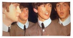 Fab Beatles Beach Towel