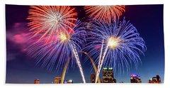 Fair St. Louis Fireworks 6 Beach Towel