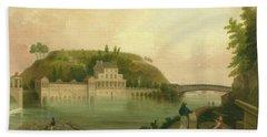 Fairmount Waterworks About 1838 Beach Towel