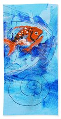 Fake Nemo Fish Beach Towel
