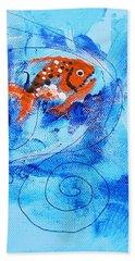 Fake Nemo Fish Beach Towel