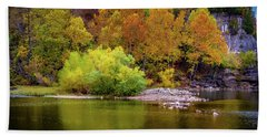 Fall Colors Of The Ozarks Beach Towel