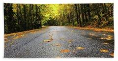 Fall Drive Beach Sheet