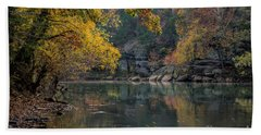 Fall In Arkansas Beach Sheet