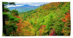 Fall In The Smokies Beach Towel