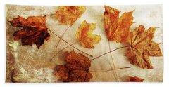Beach Towel featuring the photograph Fall Keepers by Randi Grace Nilsberg