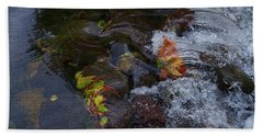 Fall Rushes By Beach Towel