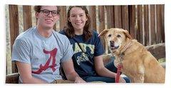 Family Dog Beach Sheet