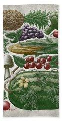 Farmer's Market - Color Beach Towel
