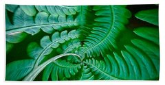 Fern Dance Beach Towel