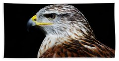 Ferruginous Hawk Beach Towel
