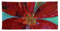 Fiery Bromeliad I Beach Towel