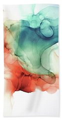 Fire And Water Beach Towel