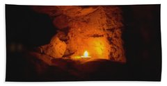 Beach Towel featuring the photograph Fire Inside by Lucia Sirna