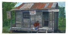 Fish Store, Natchitoches Parish, Louisiana Beach Towel