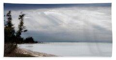 Fishermans Island Michigan Beach Sheet