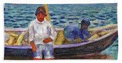 Fishermen - Digital Remastered Edition Beach Towel