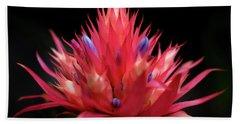 Flaming Flower Beach Sheet