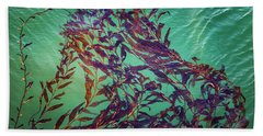 Floatin Kelp I Color Beach Towel