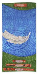 Floating Feather Beach Towel