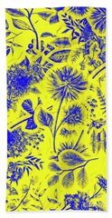 Flora And Foliage Beach Towel