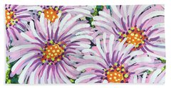 Floral Whimsy 1 Beach Sheet