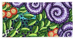 Floral Whimsy 11 Beach Towel