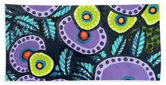 Floral Whimsy 12 Beach Towel