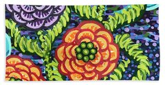 Floral Whimsy 5 Beach Towel