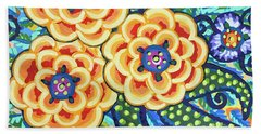 Floral Whimsy 9 Beach Towel