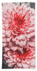 Flower Buds Beach Towel