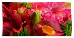 Flower Bunch Beach Towel