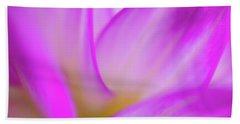 Flower Close Up Beach Towel