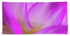 Flower Close Up Beach Sheet