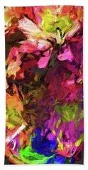 Flower Colour Love 1 Beach Towel