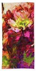 Flower Colour Love 2 Beach Towel