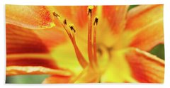 Flower Pollen Beach Towel