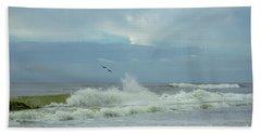 Fly Above The Surf Beach Towel