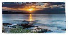 Follow The Golden Path Beach Sheet