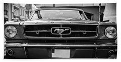 Ford Mustang Vintage 1 Beach Sheet