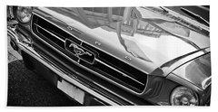 Ford Mustang Vintage 2 Beach Towel