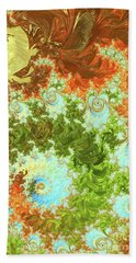 Forest And Sky Beach Towel