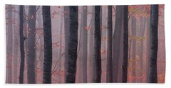 Forest Barcode Beach Sheet