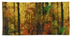 Forest Colours Beach Towel