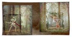 Forest Dancers Beach Sheet