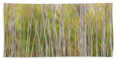 Beach Towel featuring the photograph Forest Twist And Turns In Motion by James BO Insogna