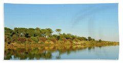 Forests Mirror Beach Towel