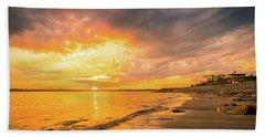 Fort Foster Sunset Watchers Club Beach Towel