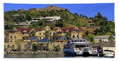 Beach Towel featuring the photograph Fort St Louis by Tony Murtagh