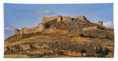 Beach Towel featuring the photograph Fortress Larissa by Milan Ljubisavljevic